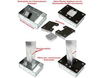 Bodenplatte *Switch-System(SBD)*