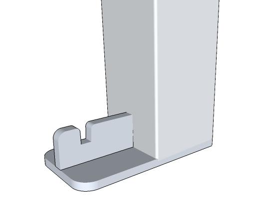 Bodenplatte *T-Fuß freistehend(SCB)*